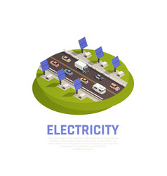 electricity concept vector image