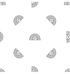 icehouse pattern seamless vector image