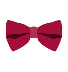 Isolated bowtie icon vector