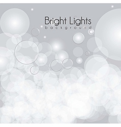 Lights glows and blurs vector