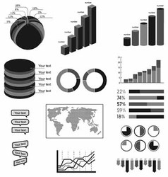 Material symbols infographics vector
