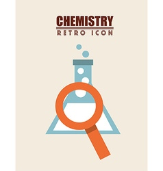 retro icon design vector image