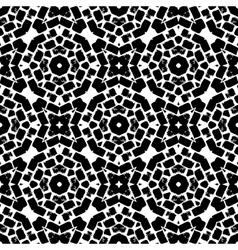Hand painted seamless pattern vector image