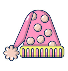 hat for sleep icon cartoon style vector image