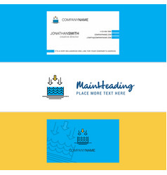 Beautiful water evaporation logo and business vector