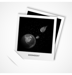 doomsday vector image