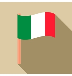 Flag of Italy icon flat style vector image