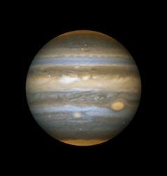 realistic planet Jupiter vector image