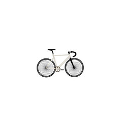 realistic track cycle element vector image