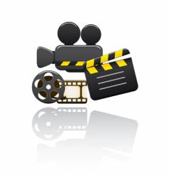 video set vector image