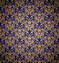 floral royal wallpaper vector image vector image