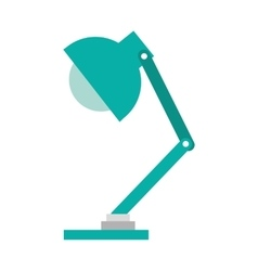 office lamp isolated icon design vector image vector image