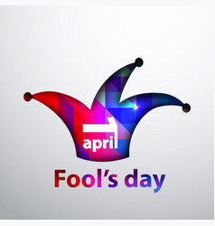 april fool s dayfirst april vector image