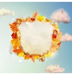 Autumn Concept Background EPS 10 vector image