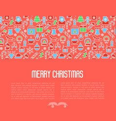 christmas celebration concept vector image