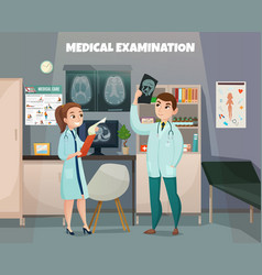 Clinical tests lab composition vector