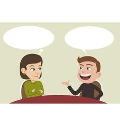 conversation vector image