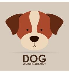 Cute dog design vector