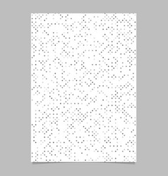 Geometric dot pattern background page template vector
