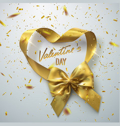 valentines day festive sign vector image