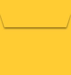 yellow paper envelope vector image