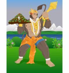 hanuman vector image vector image