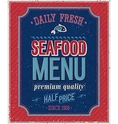 seafood2 vector image