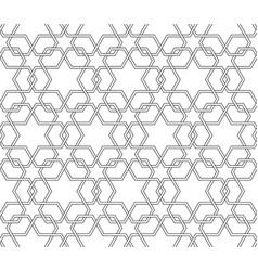 Arabic seamless pattern background vector