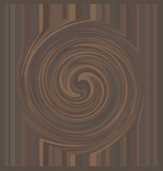 Chocolate swirl texture background vector
