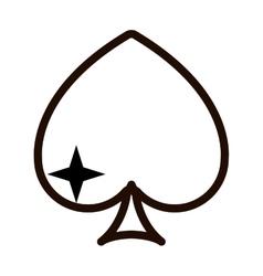 Icon casino design vector