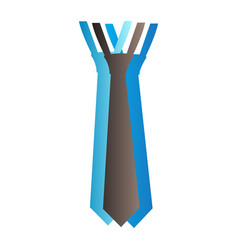 Isolated necktie vector