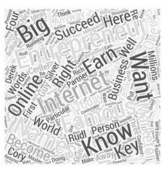 Names famous entrepreneurs word cloud concept vector