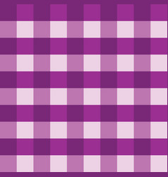Purple gingham tablecloth seamless vector