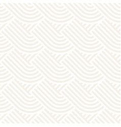 Seamless monochrome geometric pattern abstract vector