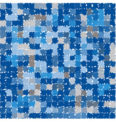 abstract pattern in shades of blue and gray vector image vector image