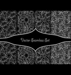 seamless decorative patterns vector image