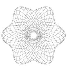 Guilloche-pattern vector