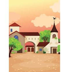 house colony vector image vector image
