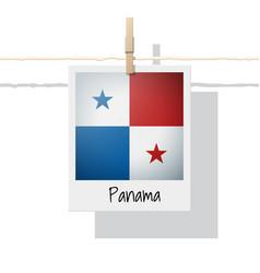 Photo of panama flag vector