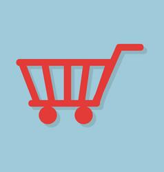shopping icon concept vector image