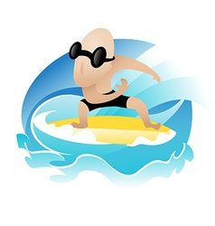 Surfer preview vector