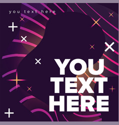 Template for your text here abstract background vector