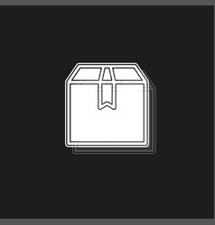 Think out box concept line icon simple element vector