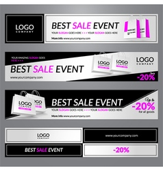 Best sale event vector image vector image