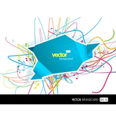 Modern Speech bubble vector image vector image