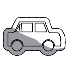 Isolated Car design vector image