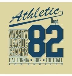 Football t-shirt fashion design graphics - vector image