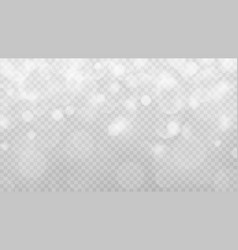 Abstract transparent bokeh background vector
