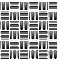 Black and white alternating bars seamlessly vector