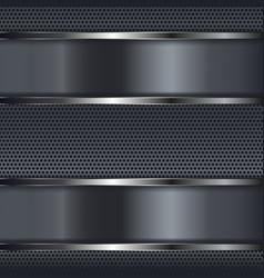 Metal background 3d vector